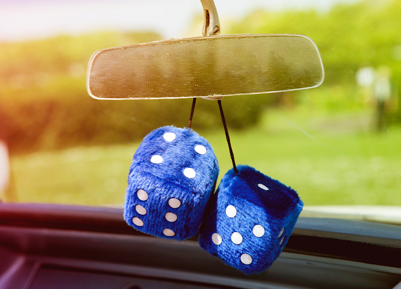 gifts for car lovers dice